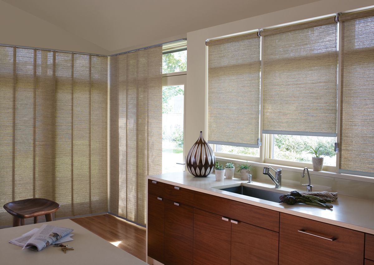 Best window treatments for doors fort myers naples fl for Best window treatments for kitchens