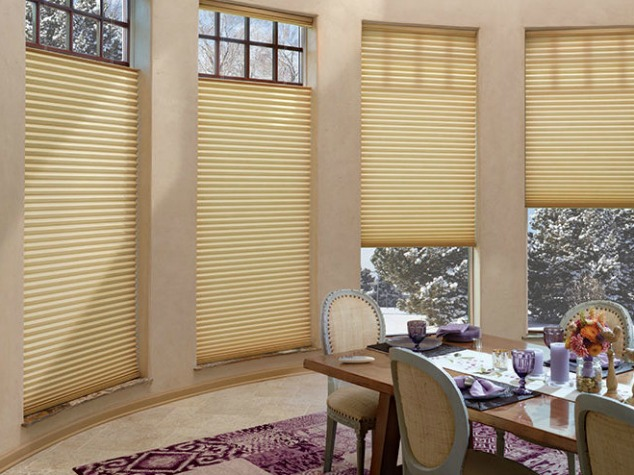 Trielle Motorized Honeycomb Shades