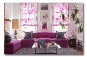 Pantone Color of the Year - Radiant Orchid for Interior Design