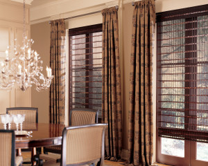 Pairing Drapery with Blinds and Shades