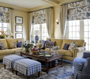 Mixing Patterns & Florals in Interior Design