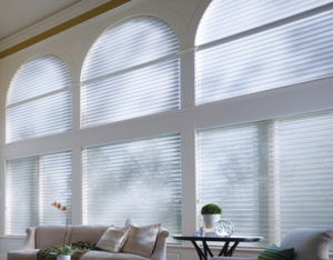 Nantucket™ Window Shadings in the Living Room