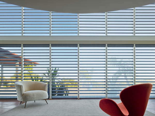 Pirouette® Window Shadings with ClearView™